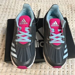 Adidas toddler girls shoes size 11 NWT